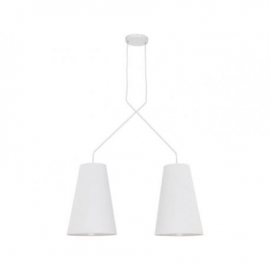 Alanya White II 9370 Lampa Sufitowa Nowodvorski Lighting